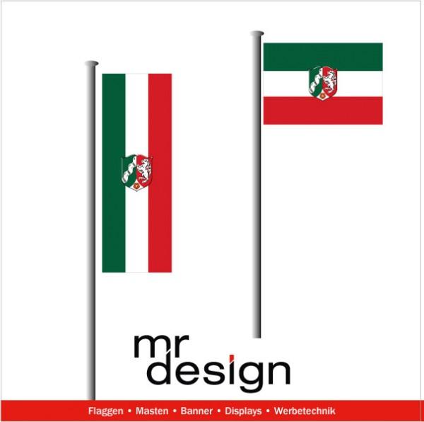 Nordrhein Westfalen Fahne günstige Qualitätsfahne