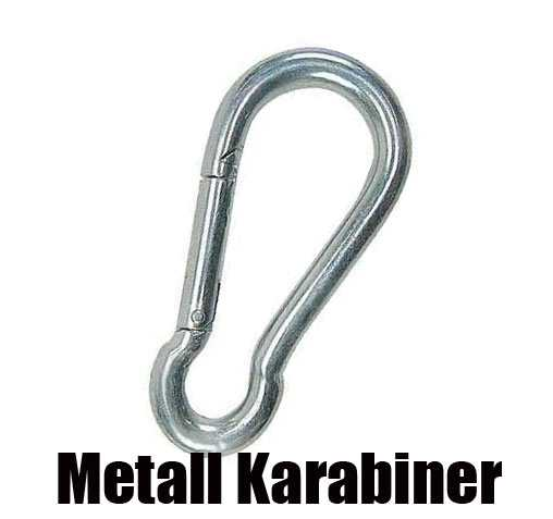 Metall Karabiner 40 mm
