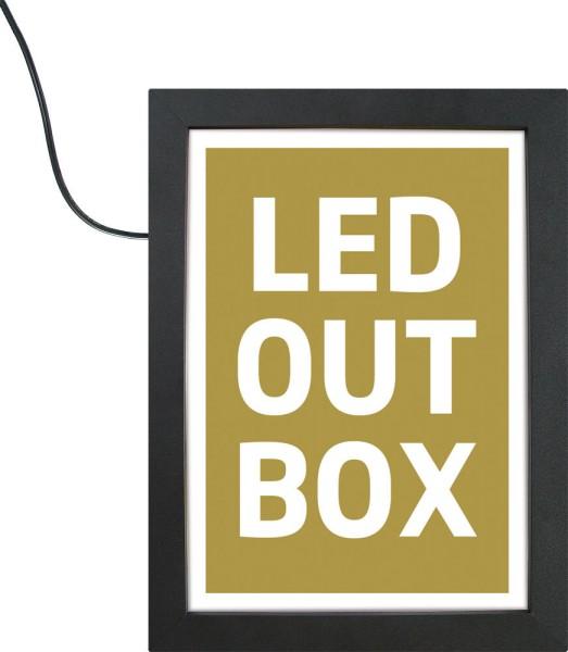 Beleuchteter LED-Klapprahmen