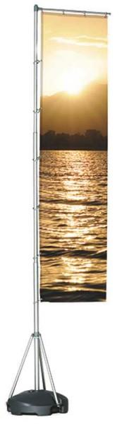Mobiler Fahnemast 415 cm