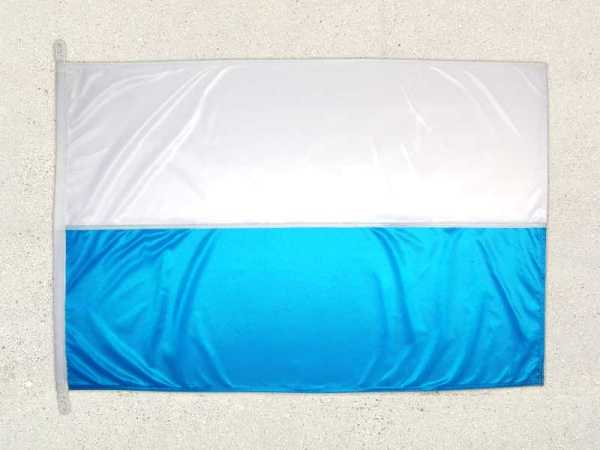 Bayern Flagge Streifen weiß blau