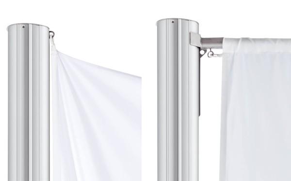 Ovaler Fahnenmast Strato mit oder ohne Ausleger