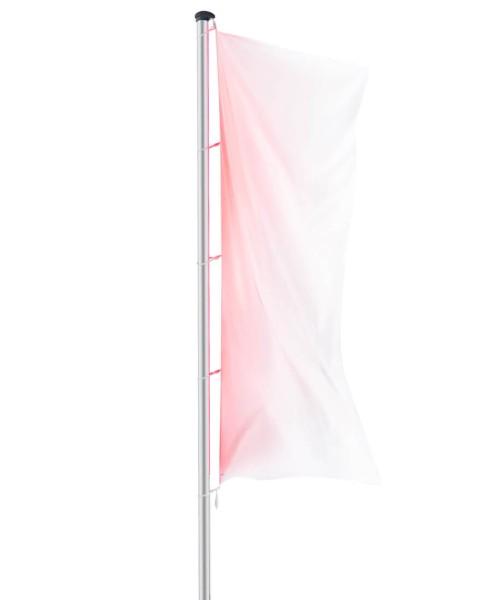 Fahnenmast mit LED-Beleuchtung
