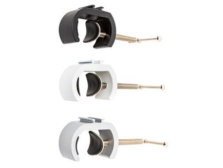 Klemmringe für Befestigung von LED-Strahlern an Zipper-Walls
