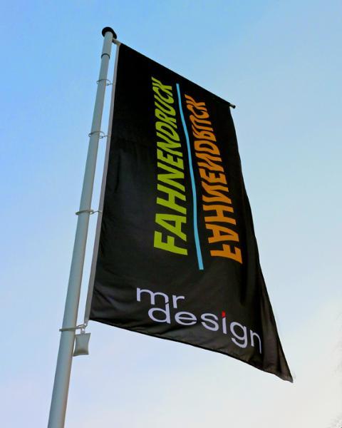 Fahne und Fahnenmast von MR Design Hamburg
