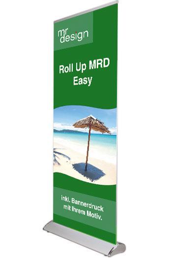 Roll up mit wechselbarer Bannerrolle
