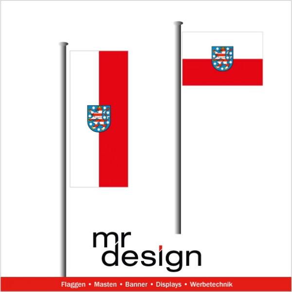 Thüringen Fahne in jeder Größe
