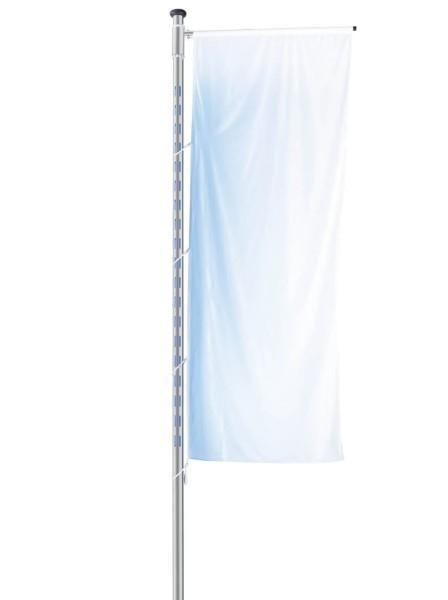 Fahnenmast Brightlight mit integrierter LED-Beleuchtung für das Fahnentuch
