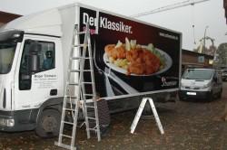 Fahrzeugbeschriftung Schweinske Hamburg