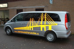 Fahrzeugbeschriftung mit Reflexfolie Norderstedt